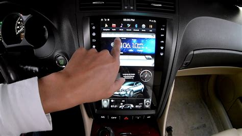 Lexus GS Tesla Style Android Stereo Headunit overview