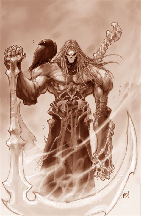 Darksiders – Strife, Fury and Death art revealed   VG247