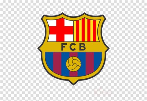 Library of fc barcelona logo vector transparent library