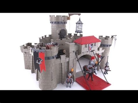 Playmobil 2015 Hawk Knights Castle review! set 6001 - YouTube