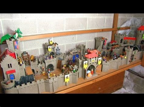 4x Playmobil Castles = one combined build! - YouTube