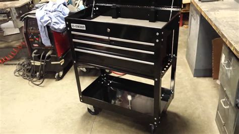 Harbor Freight Tool Cart - US General - Review - YouTube