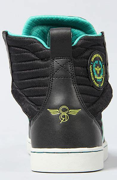 Creative Recreation The Solano Sneaker in Black Turquoise