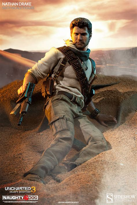 First Look at Uncharted Nathan Drake Figure From Sideshow